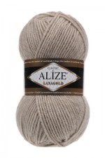 Пряжа Alize Lanagold (Ализе Лана Голд) Цвет 152 бежевый