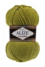 Пряжа Alize Lanagold (Ализе Лана Голд) Цвет 193 фисташка