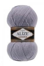 Пряжа Alize Lanagold (Ализе Лана Голд) Цвет 200 светло серый
