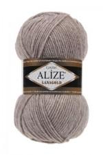 Пряжа Alize Lanagold (Ализе Лана Голд) Цвет 207 светло коричневый
