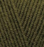 Alize Lanagold Цвет 214 оливковый зеленый