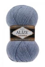 Пряжа Alize Lanagold (Ализе Лана Голд) Цвет 221 светлый джинс