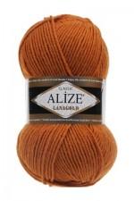 Пряжа Alize Lanagold (Ализе Лана Голд) Цвет 234 лисий