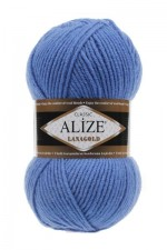 Пряжа Alize Lanagold (Ализе Лана Голд) Цвет 237 сафир