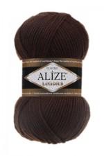 Пряжа Alize Lanagold (Ализе Лана Голд) Цвет 26 коричневый