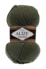 Пряжа Alize Lanagold (Ализе Лана Голд) Цвет 29 хаки