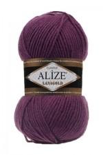 Alize Lanagold Цвет 307 гнилая вишня