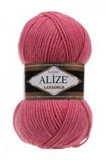 Пряжа Alize Lanagold (Ализе Лана Голд) Цвет 359 темная роза