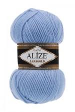 Пряжа Alize Lanagold (Ализе Лана Голд) Цвет 40 голубой