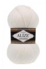 Пряжа Alize Lanagold (Ализе Лана Голд) Цвет 450 жемчуг