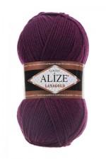 Пряжа Alize Lanagold (Ализе Лана Голд) Цвет 495 бордо