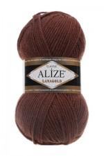 Пряжа Alize Lanagold (Ализе Лана Голд) Цвет 583 корица
