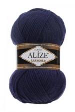 Пряжа Alize Lanagold (Ализе Лана Голд) Цвет 590 темно синий