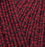 Alize Lanagold Цвет 603 красно-черный