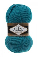 Пряжа Alize Lanagold (Ализе Лана Голд) Цвет 640 малахит