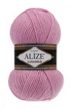 Пряжа Alize Lanagold (Ализе Лана Голд) Цвет 98 розовый