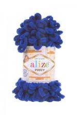 Пряжа для вязания Alize Puffy (Ализе Пуффи) Цвет 141 василек
