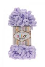 Пряжа для вязания Alize Puffy (Ализе Пуффи) Цвет 146 лиловый