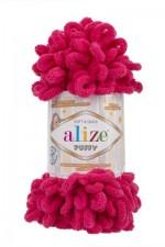 Пряжа для вязания Alize Puffy (Ализе Пуффи) Цвет 149 фуксия