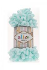 Пряжа для вязания Alize Puffy (Ализе Пуффи) Цвет 15 мята