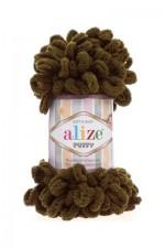 Пряжа для вязания Alize Puffy (Ализе Пуффи) Цвет 179 верблюжий