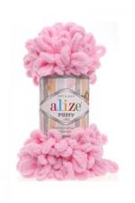 Пряжа для вязания Alize Puffy (Ализе Пуффи) Цвет 185 розовый