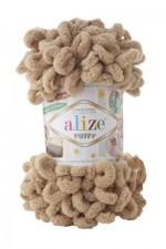 Пряжа для вязания Alize Puffy (Ализе Пуффи) Цвет 262 бежевый