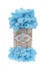 Пряжа для вязания Alize Puffy (Ализе Пуффи) Цвет 287 бирюзовый
