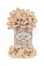 Пряжа для вязания Alize Puffy (Ализе Пуффи) Цвет 310 медовый