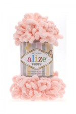 Пряжа для вязания Alize Puffy (Ализе Пуффи) Цвет 340 пудра