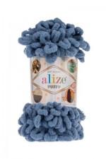 Пряжа для вязания Alize Puffy (Ализе Пуффи) Цвет 374 светлый джинс
