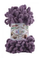 Пряжа для вязания Alize Puffy (Ализе Пуффи) Цвет 437 лаванда