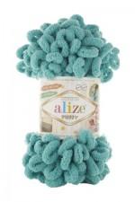 Пряжа для вязания Alize Puffy (Ализе Пуффи) Цвет 457 мята