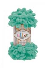 Пряжа для вязания Alize Puffy (Ализе Пуффи) Цвет 490 светлая бирюза