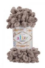 Пряжа для вязания Alize Puffy (Ализе Пуффи) Цвет 530 песочный