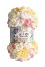 Пряжа для вязания Alize Puffy Fine Color (Ализе Пуффи Файн Колор) Цвет 5942