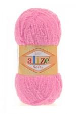 Alize Softy Цвет 191 ярко розовый