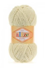 Alize Softy Цвет 382 светло бежевый