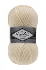 Пряжа для вязания Alize Superlana Maxi (Ализе Суперлана Макси) Цвет 01 молочный