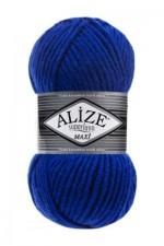Пряжа для вязания Alize Superlana Maxi (Ализе Суперлана Макси) Цвет 141 василек
