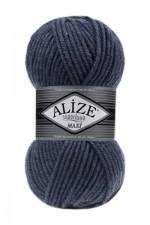 Пряжа для вязания Alize Superlana Maxi (Ализе Суперлана Макси) Цвет 203 джинсовый