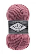 Пряжа для вязания Alize Superlana Maxi (Ализе Суперлана Макси) Цвет 204 темная пудра