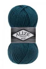 Пряжа для вязания Alize Superlana Maxi (Ализе Суперлана Макси) Цвет 212 петрольный