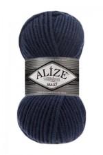 Пряжа для вязания Alize Superlana Maxi (Ализе Суперлана Макси) Цвет 215 черника