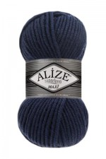 Alize Superlana Maxi Цвет 215 черника