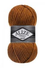 Пряжа для вязания Alize Superlana Maxi (Ализе Суперлана Макси) Цвет 234 лисий