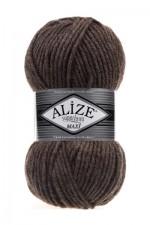 Пряжа для вязания Alize Superlana Maxi (Ализе Суперлана Макси) Цвет 240 кофе с молоком