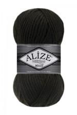 Пряжа для вязания Alize Superlana Maxi (Ализе Суперлана Макси) Цвет 241 темно зеленый