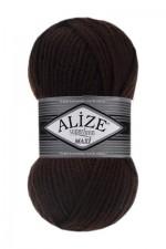 Пряжа для вязания Alize Superlana Maxi (Ализе Суперлана Макси) Цвет 26 коричневый