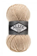 Пряжа для вязания Alize Superlana Maxi (Ализе Суперлана Макси) Цвет 310 шампанское